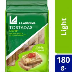 Tostadas Light La Anónima x 180 g.