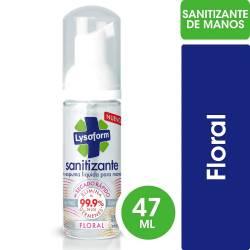 Sanitizante para Manos en Espuma Lysoform Floral x 47 cc.