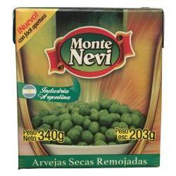 Arvejas Secas Remojadas Montenevi x 340 g.