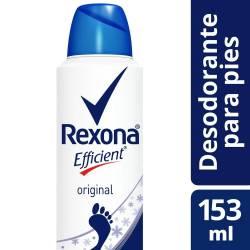 Desodorante Pédico Rexona Antibacterial Original Aerosol x 153 cc.