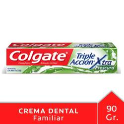 Crema Dental Triple Acción Extra Fresh Colgate x 90 g.