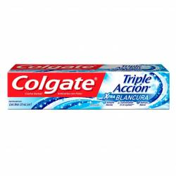 Crema Dental Colgate Triple Acción Extra White x 180 g.