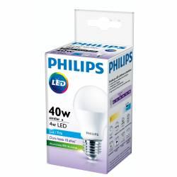 Lámpara Led 4W Luz Fría E27 Philips x 1 un.