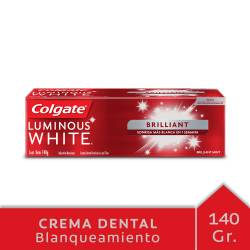 Crema dental Colgate Luminous White x 140 g.