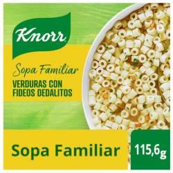Sopa de Verduras con Fideos Dedalito Knorr x 115 g.