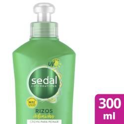 Crema para Peinar Sedal Rizos Definidos x 300 cc.