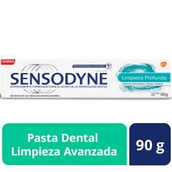 Crema dental Sensodyne Limpieza Profunda x 90 g.