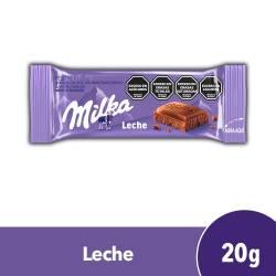 Chocolate con leche Milka x 20 g.