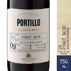 Vino Tinto Pinot Noir Portillo x 750 cc.
