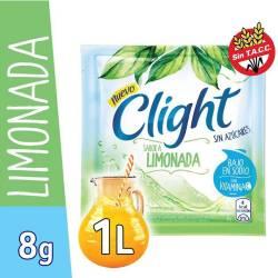 Polvo para preparar jugo Clight Limonada x 8 g.