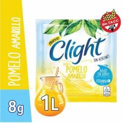 Polvo para preparar jugo Clight Pomelo Amarillo x 8 g.