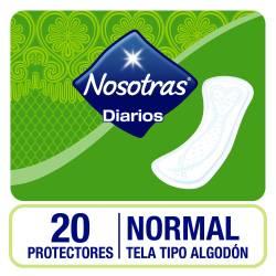 Protectores Diarios Nosotras Normal x 20 un.