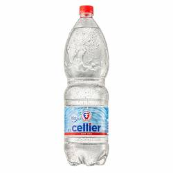 Agua Mineral con gas Cellier Pet x 2 lt.