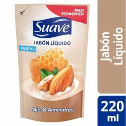Jabón Líquido para Manos Suave Miel y Almendras x 220 g.