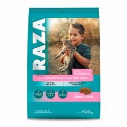 Alimento para Gatitos Carne Raza x 500 g.