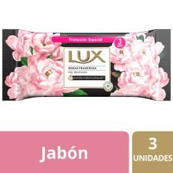 Jabón Tocador Lux Rosas Francesas x 3 un. x 375 g.