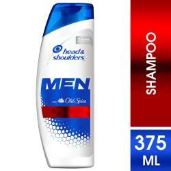 Shampoo Head Shoulders Control Caspa Men Old Spice x 375 cc.