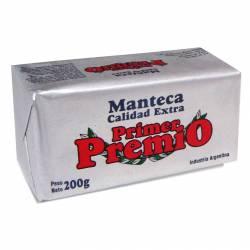 Manteca Primer Premio x 200 g.