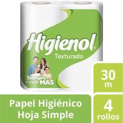 Papel Higiénico H.S. Higienol 30 m x 4 un. x 12 m2