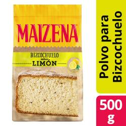 Polvo para preparar Bizcochuelo Maízena Limón x 500 g.