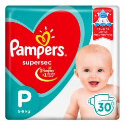 Pañal Pampers Súper Sec Mega Pack P x 30 un.