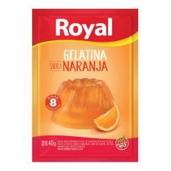 Gelatina en Polvo Royal Naranja x 40 g.