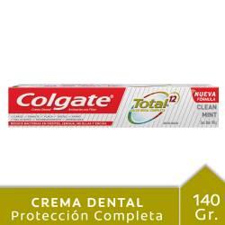 Crema Dental 12 Beneficios Colgate Clean Mint x 140 g.