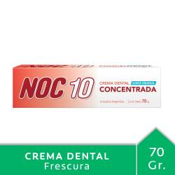Crema Dental Concentrada Noc 10 x 70 g.