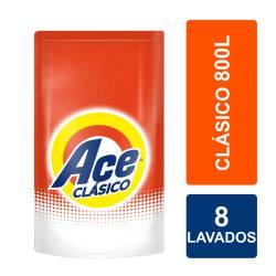 Jabón Líquido Ace Clásico Doy Pack x 800 cc.