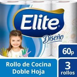 Rollo Cocina D.H. Elite 3 x 60 paños x 3 un.