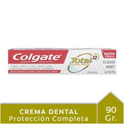 Crema Dental 12 Beneficios Clean Colgate x 90 g.
