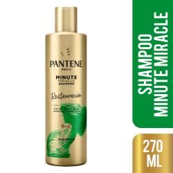 Shampoo Miracle Pantene Restauración Pro V x 270 cc.