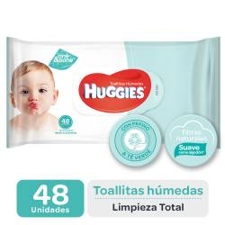 Toallitas Húmedas Huggies Limpieza Total x 48 un.