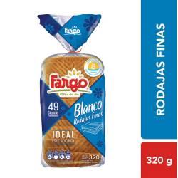 Pan de Mesa Blanco Fargo Rodajas Finas x 320 g.