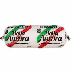 Queso Mozzarella Doña Aurora x 500 g.