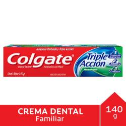 Crema Dental Colgate Triple Acción x 140 g.
