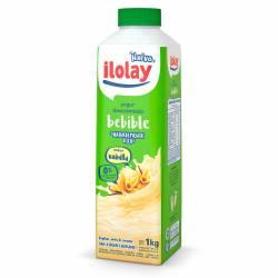Yogur Descremado Bebible Ilolay Bebible Vainilla Tetra x 1 Kg.