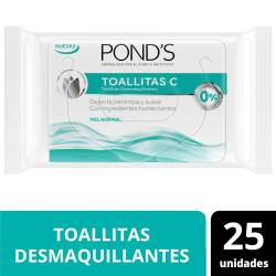 Toallitas Desmaquillantes Ponds Original x 25 un.
