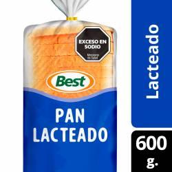 Pan Lacteado Grande Best x 600 g.