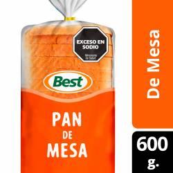 Pan de Mesa Grande Best x 600 g.