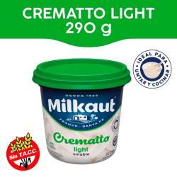Queso untable Light Milkaut Crematto x 290 g.