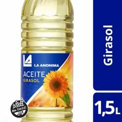 Aceite de Girasol La Anónima x 1,5 Lt.