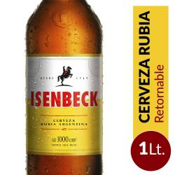 Cerveza Isenbeck Retornable x 1 lt.