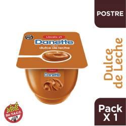 Postre Danette Dulce de Leche x 95 g.