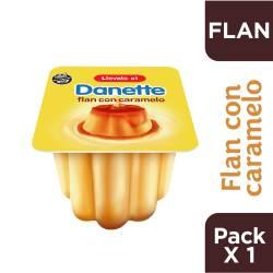 Flan con Caramelo Danette x 95 g.