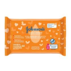 Toallitas Húmedas Johnsons Limpieza y Suavidad x 44 un.