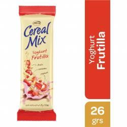 Cereal en BarraProteína Cereal Mix Yogur Frutilla y Frutos Rojos x 26 g.