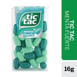 Pastillas Tic Tac Menta Fuerte x 16 g.