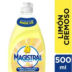 Detergente Líquido Magistral Limón Cremoso x 500 cc.