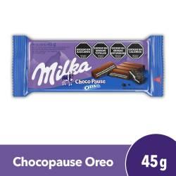 Oblea Rellena Oreo Milka Chocopause x 45 g.
